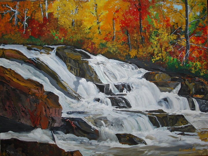 Waterfall in Autumn (Seabird 2018)-720